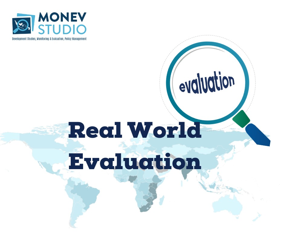 Belajar MONEV : Real World Evaluation