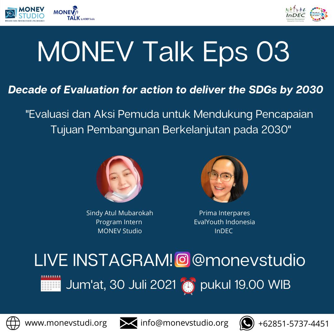 MONEV Talk Episode 3